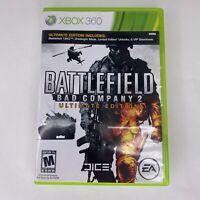 Battlefield: Bad Company 2 Ultimate Edition (Microsoft Xbox 360, 2010)