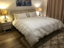 KING SIZE QUILT 95% MOTHER GOOSE HUNGARIAN GOOSE DOWN® BAFFLE BOXED 1 BLANKET
