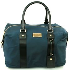 Michael Kors Weekend Bag Holdall Polyester Navy Dark Blue