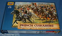 ZVEZDA 8037 NAPOLEONIC FRENCH CUIRASSIERS. 1:72 SCALE UNPAINTED FIGS X 19