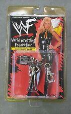 WWE WWF Die Cast Metal Keychain - 1998 SABLE MOC