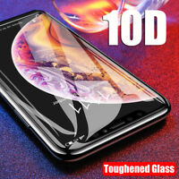 10D Curved Tempered Glass 9H Screen Protector Protective For iPhone X XS Max XR