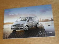Mercedes Viano Brochure 2010 - 2.0 CDI 2.2 CDI 3.0 CDI Trend Compact Extra Long