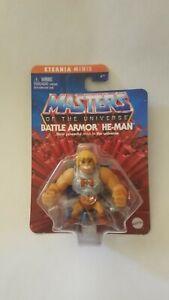 "New Masters of the Universe Battle Armor HE-MAN Eternia Minis MOTU Figure 2"""
