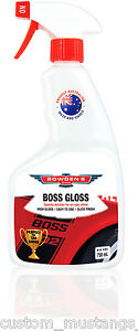 Bowden's Own Boss Gloss Detail Spray Mothers Meguiars Turtle Wax FPV HSV BMW 750