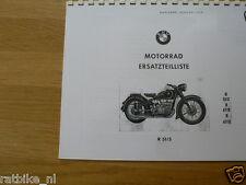 B0254 BMW---ERSATZTEILLISTE 2 ZYLINDER MASCHINEN---R51/3 + R67/2 + R67/3