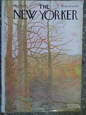 The New Yorker Magazine  March 25,1972  Ilonka Karasz  VINTAGE ADS