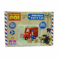Postman Pat's Toy Small Free Wheeling Van With Pat Figure & 2 Parcels NEW BOXED