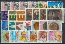 Luxemburg Jahrgang 1984 postfrisch in den Hauptnummern kompl....................