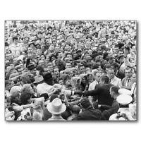 "*Postcard-""John F Kennedy""  ...JFK Fort Worth Rally-1963  (#695)"