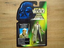 Han Solo Endor Gear Star Wars Power of the Force 3,75 Inch Action Figure Kenner