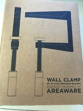 Areaware Wall Clamp Design By Brenda Ravenhill One Set Of Two