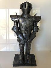 "Medieval Decorative Standing Swordsman Knight Guardian Figurine Statue - 19 1/2"""