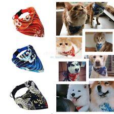 1Pcs Pet Dog Scarf Collar Puppy Cat Triangular Neckerchief Flower Bib Bandana