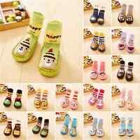 Anti-Slip Fun Baby Kids Toddler Girl Boy Shoes Boots Slipper Socks 0-24 Months