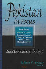 Pakistan in Focus: Recent Events, Issues and Analyses - New Book