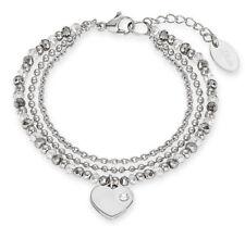 s.Oliver Damen Armband mit Herz 2012530 Edelstahl