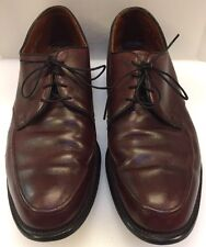 E.T. Wright Burgundy Leather Dress Oxfords Shoes Made In USA Men's 12 E 600210