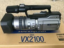 Sony Dcr- Vx2100 Camcorder/- Excellent Condition +