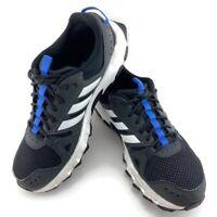 Adidas Rockadia Trail Black White Lace Up Running Shoes Mens US 9 CM7212