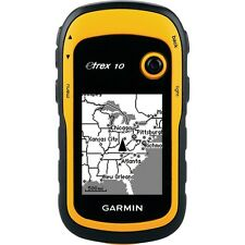 Garmin eTrex 10 Handheld GPS (Supplied with Aust Tax Invoice)