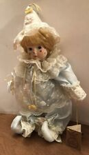 Vintage KINGSTATE CORP The Prestige Collection Blonde Hair Blue Eyes Clown