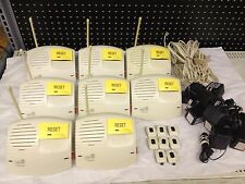 LOT of 8 Philips LifeLine Emergency Communicator Units + Buttons L6600S