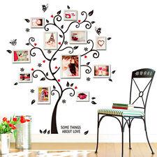 Wandaufkleber Baum Wandtattoo Fotobaum Familenbaum Wandsticker NEU SCHNELL