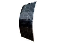 150 Watt Flexibles Solarmodul 12 Volt Monokristallin semi flex Camping PV Panel