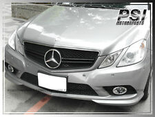 MBENZ 2010-2013 C207 E350 E550 Coupe E63AMG Style Front Chrom Black 2 Fin Grille