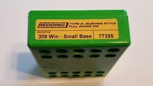77355 REDDING TYPE-S FULL LENGTH BUSHING SMALL BASE DIE - 308 WINCHESTER - NEW
