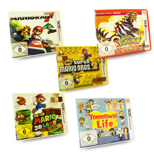 3DS Spiel Mario Kart New Super Bros Super 3D Land Pokemon Omega Tomodachi Life