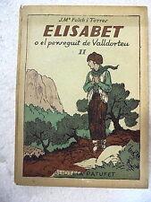 Biblioteca Patufet,Elisabet o el Perseguit de Valldorteu,Junceda,1926