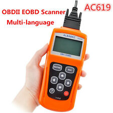 AC619 OBD2 ELM327 Car Fault Diagnostic Scanner Code Reader Tool Multi-language