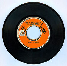 Philippines LANA ABELLA You Wanted Me To Be Your Baby OPM 45 rpm Record