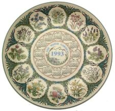 Wedgwood Calendar plate 1993 The Water Garden from Country Gardens CP298