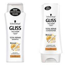 Schwarzkopf Gliss Keratin Total Repair Shampoo Conditioner For Dry Damaged Hair