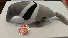 Ty Beanie Baby DOB November 7, 1997 Ants the Anteater 2 Errors Tush Tag & Date