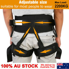 Adjustable Tree Mountain Climbing Rappelling Belt Safety Harness Protective Gear
