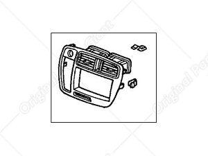 Genuine Honda Radio Center Panel *NH1L* 77251S01A21ZA fit for Honda Civic