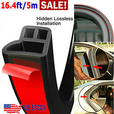 5M L-Shape Auto Car Door Trunk Seal Strip Rubber Weather Strip Edge Accessories (Fits: Hyundai Accent)