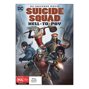 Suicide Squad: Hell to Pay DVD New Region 4 Aust. - Christian Slater - Free Post