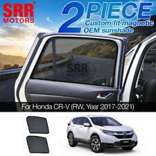 Custom Magnetic Sun Shade Rear Door Car Window For Honda CR-V CRV RW 2017-2020