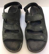 1f534fd50 Ecco Women 41 EU 10 10.5 US 3 Strap Black Sandals Flip Flops