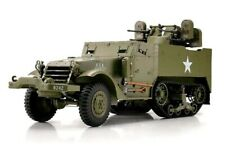 Torro Radio Remote Control HalfTrack USA M16 with 2 figures 1/16 RTR UK