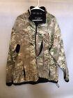 Real Tree Pro Series Camo Fleece Jacket Men's Size Extra Large XL Long Sleeve