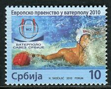 0368 SERBIA 2010 - European Waterpolo Championship - MNH Set