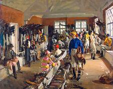 Lavery John Sir The Jockeys Dressing Room At Ascot Print 11 x 14  #3810