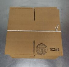 25 Pack Of 5x5x4 Shipping Boxes, New