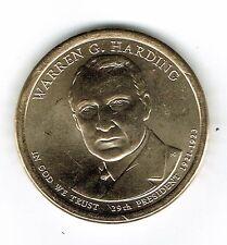2014-P $1 Brilliant Uncirculated 29TH President Harding Dollar Coin!